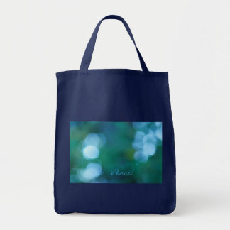 Peace! Grocery Tote Bag