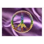Peace Treasure Business Card Templates