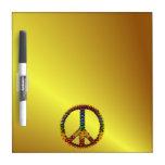 Peace Treasure Dry-Erase Boards