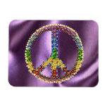 Peace Treasure Vinyl Magnet