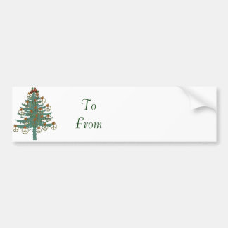 Peace Tree Bumper Sticker