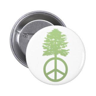 Peace Tree Pin