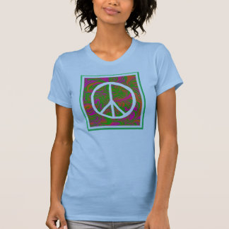 Peace Twofer Sheer T-Shirt