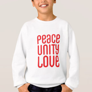 PEACE UNITY LOVE ♥ SWEATSHIRT