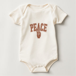 PEACE UNIVERSITY TEAM BABY BODYSUIT