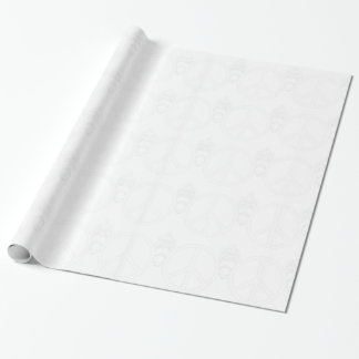 peace wrapping paper