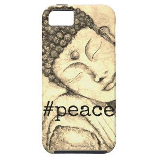 #Peace Zen Buddha Watercolor Art Phone Case