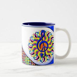 PeaceCup Two-Tone Coffee Mug