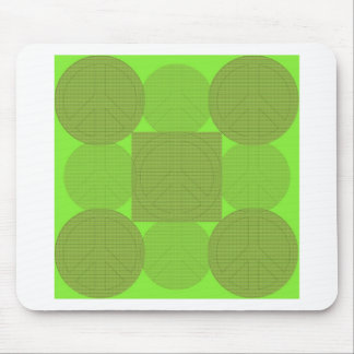 Peaced Together designs Mouse Pads