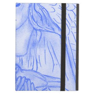 Peaceful Angel in Blue Cover For iPad Air