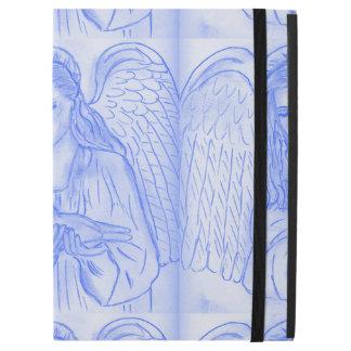 "Peaceful Angel in Blue iPad Pro 12.9"" Case"