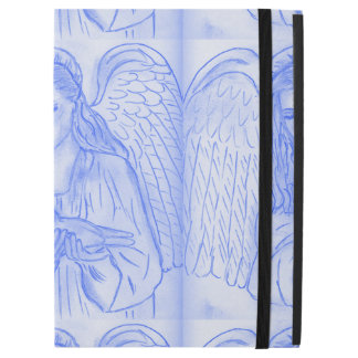 "Peaceful Angel in Blue iPad Pro 12.9"" Case"