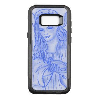 Peaceful Angel in Blue OtterBox Commuter Samsung Galaxy S8+ Case