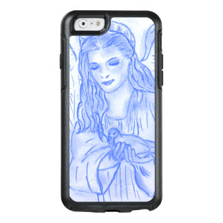 Peaceful Angel in Blue OtterBox iPhone 6/6s Case