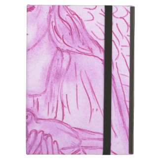 Peaceful Angel in Pink Cover For iPad Air