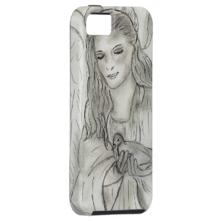 Peaceful Angel iPhone 5 Cover