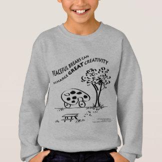 Peaceful Breaks Can Recharge Great Creativity Sweatshirt