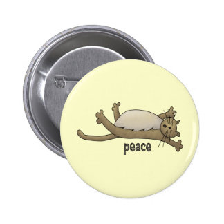 Peaceful Cat Buttons