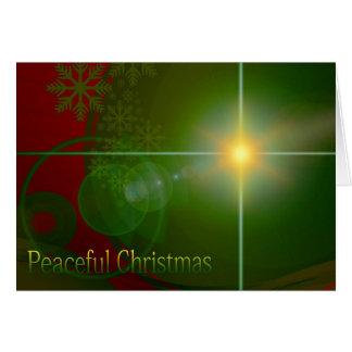 Peaceful Christmas Card