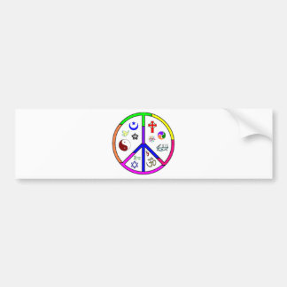 Peaceful Coexistence Bumper Sticker