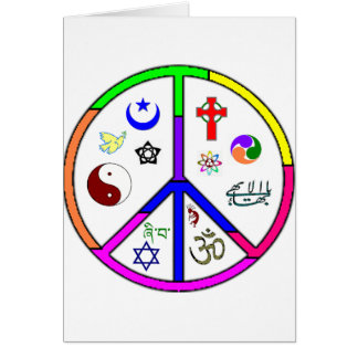 Peaceful Coexistence Card