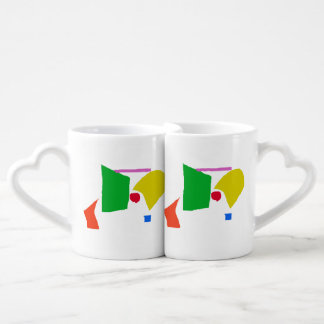 Peaceful Continents Couples Mug
