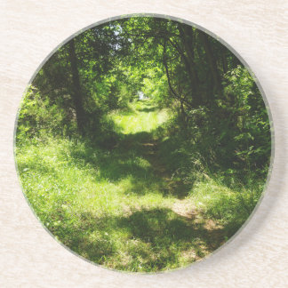 Peaceful Country Pathway Coaster