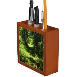 Peaceful Country Pathway Desk Organiser