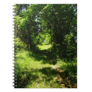Peaceful Country Pathway Notebook