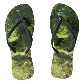Peaceful Country Pathway Thongs