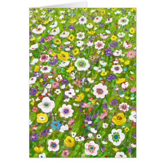 Peaceful Garden Greeting Card by Rino Li Causi