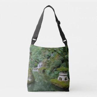 Peaceful Japanese Gardens Crossbody Bag