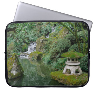 Peaceful Japanese Gardens Laptop Sleeve