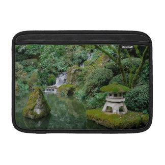 Peaceful Japanese Gardens MacBook Sleeve