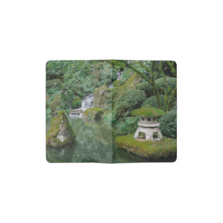 Peaceful Japanese Gardens Pocket Moleskine Notebook