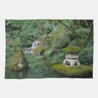 Peaceful Japanese Gardens Tea Towel