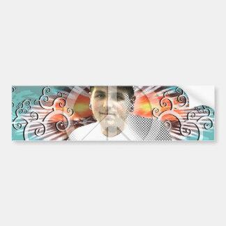 peaceful kyle bumper sticker