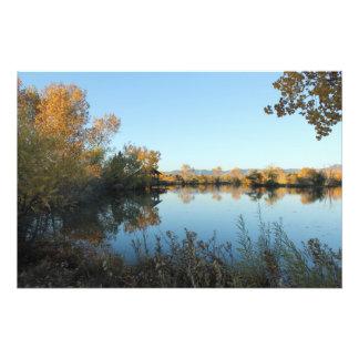 Peaceful Lake 1 Photo Art