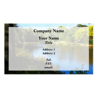 Peaceful Lake Pack Of Standard Business Cards
