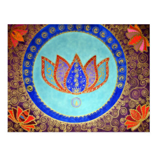 Peaceful Lotus Dreams Postcard