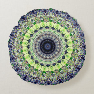 Peaceful Mandala Round Cushion