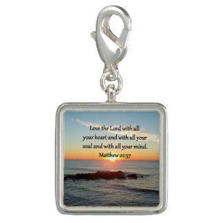 PEACEFUL MATTHEW 22:37 SUNRISE SCRIPTURE DESIGN