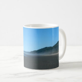 Peaceful Misty Washington State Beach Scenic Mug