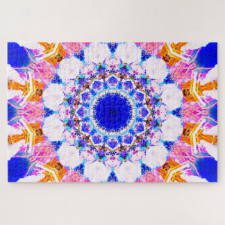 Peaceful Moment | Abstract Mandala Jigsaw Puzzle