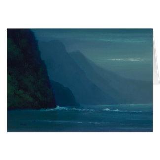 Peaceful Na'Pali Coast - Note Card