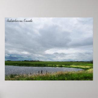 Peaceful Nature | Canadian Prairies Poster
