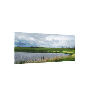 Peaceful Nature Panoramic Canvas Print