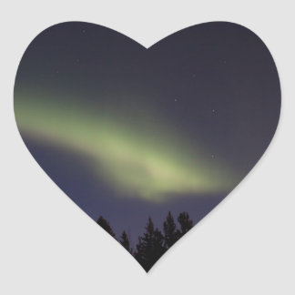 Peaceful Northern Lights Stickers