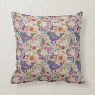Peaceful Paisley Cushion