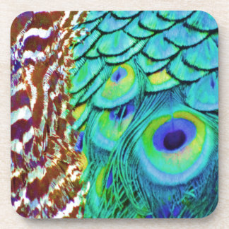 Peaceful Peafowl Flow Coaster